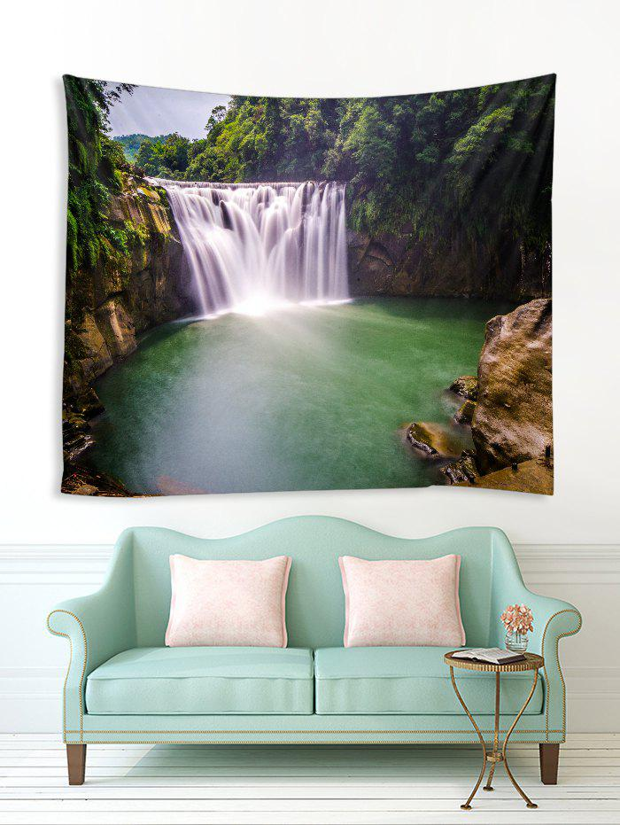 Unique Forest Waterfall River Print Tapestry Wall Hanging Art Decoration