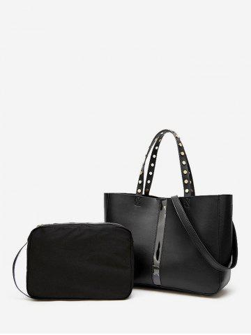Casual Leather Tote Bag Set