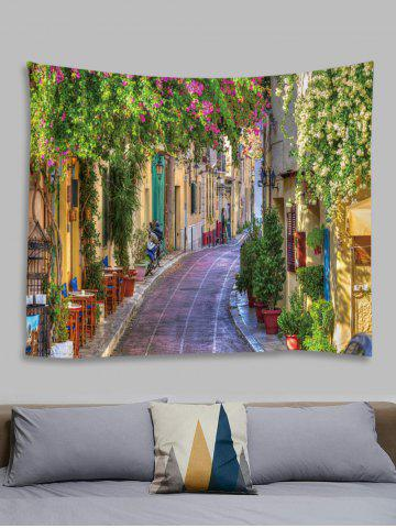 Streetscape Plant Pattern Tapestry