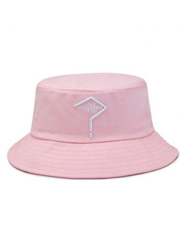Question Mark Embroidery Bucket Hat