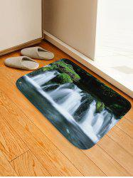 Waterfall River Pattern Water Absorption Area Rug -