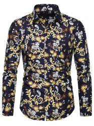 Paisley Pattern Pocket Design Casual Shirt -