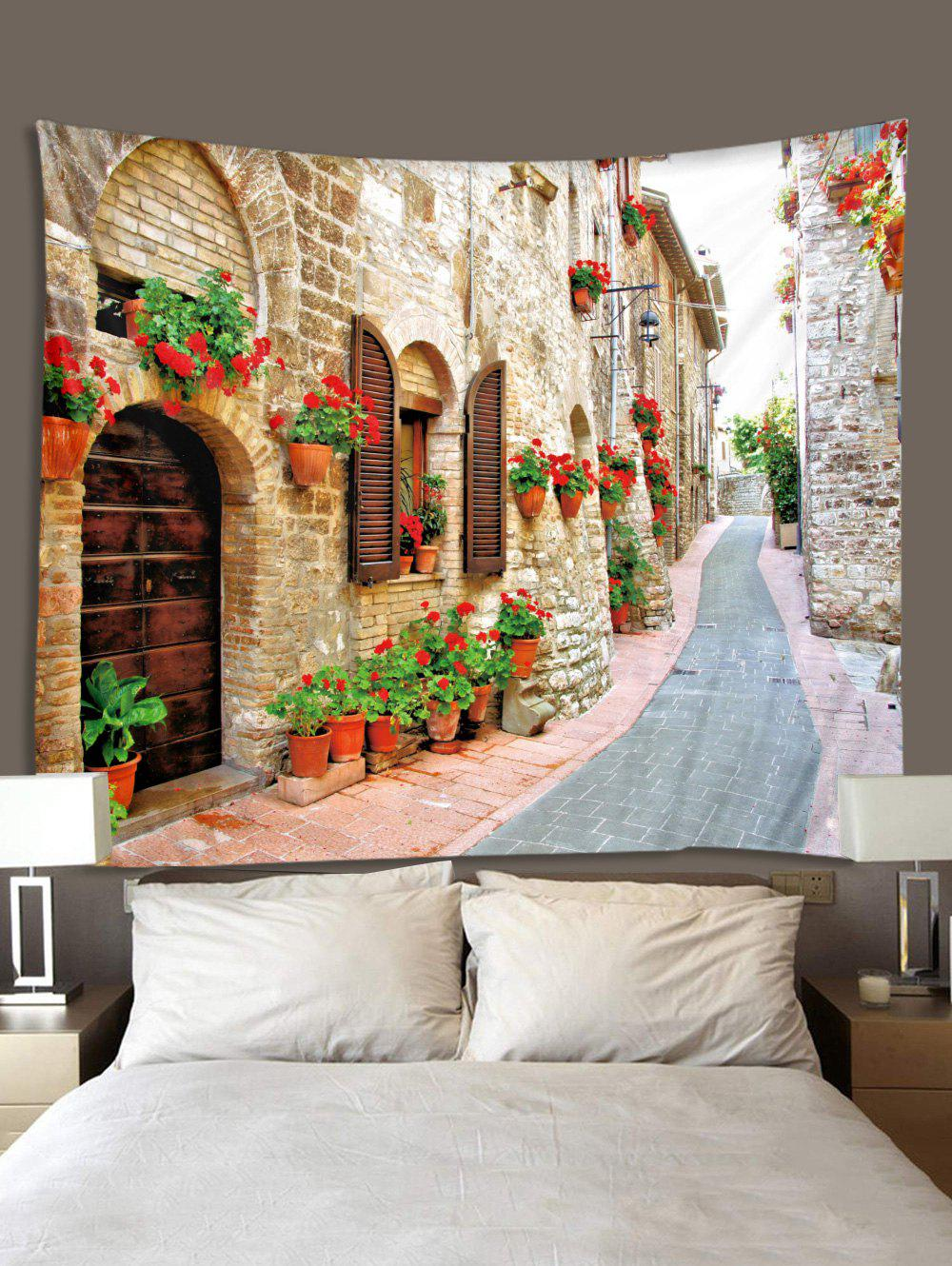 Unique 3D Alley Pattern Tapestry