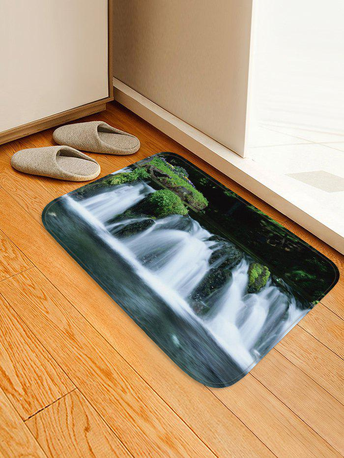Affordable Waterfall River Pattern Water Absorption Area Rug