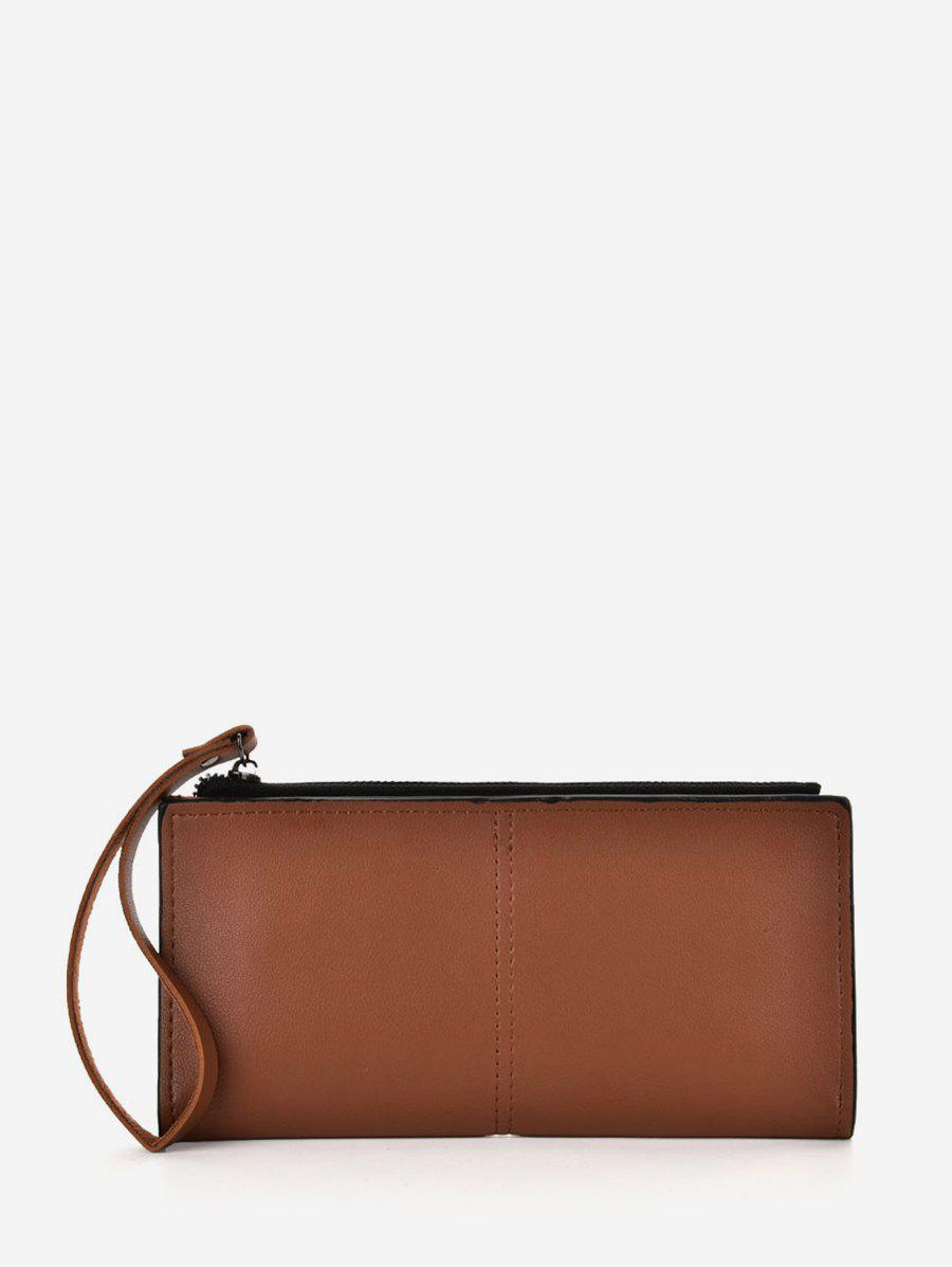 Affordable Solid PU Leather Clutch Bag