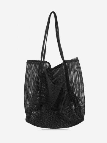 Nylon Mesh Large Capacity Shoulder Bag