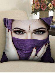Taie d'oreiller décorative Fashion Woman Print -