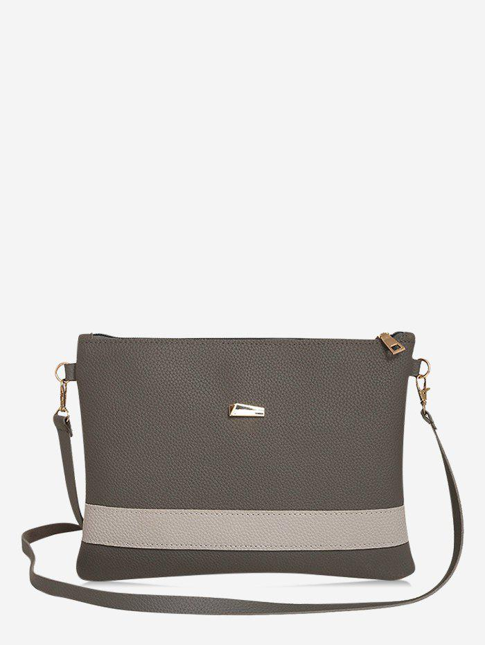 Fashion PU Simple Crossbody Bag