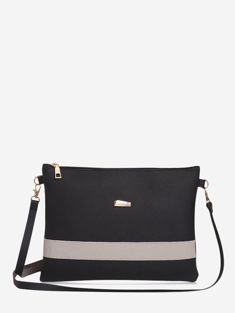 Sale PU Simple Crossbody Bag