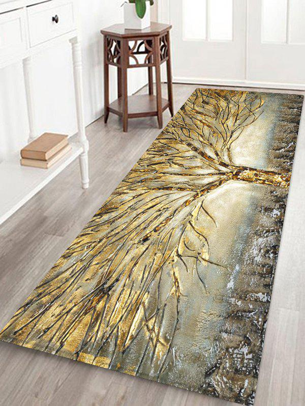 Buy Abstract Tree Pattern Water Absorption Area Rug