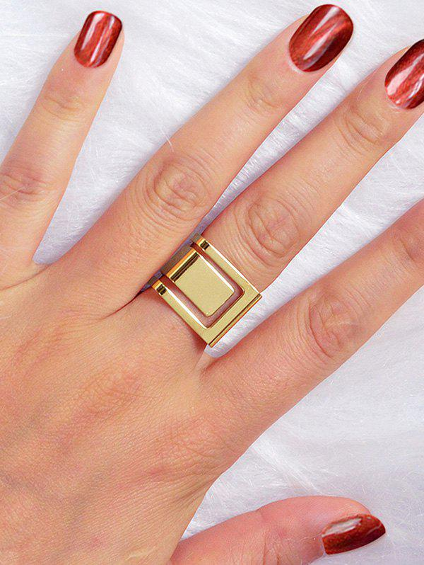 Outfits Metal Geometric Wide Ring