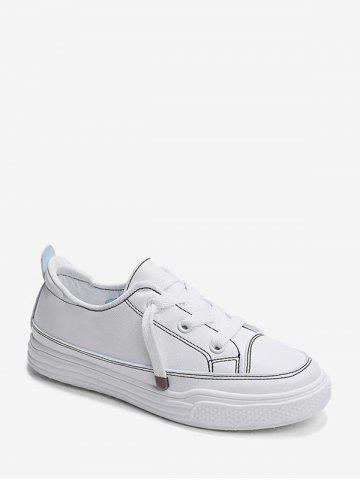 Solid Casual Canvas Shoes