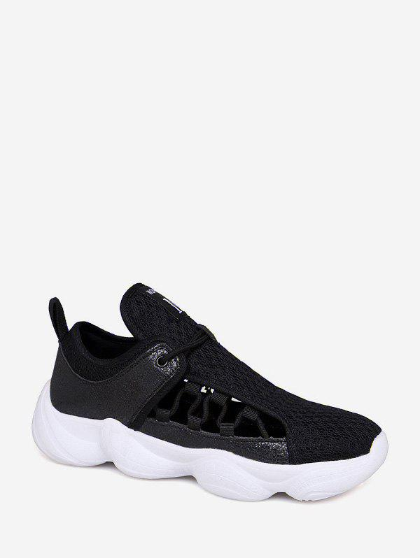 Online Mesh Hollow Out Patchwork Sneakers