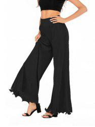 Pleated High Waisted Loose Pants -