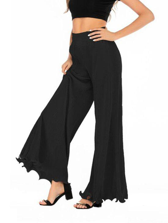 Outfit Pleated High Waisted Loose Pants
