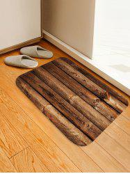 Classic Wood Grain Floor Mat -