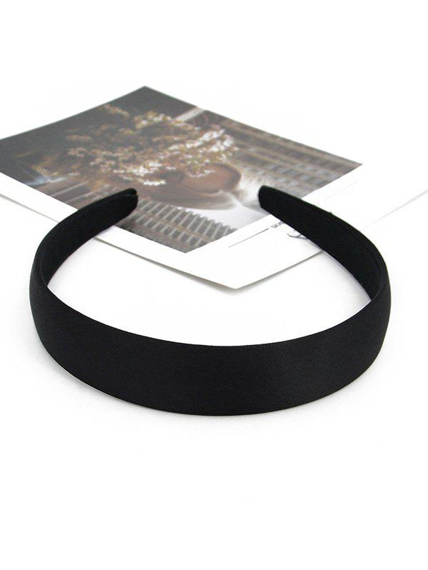 Cheap Brief Vintage Solid Wide Hairband