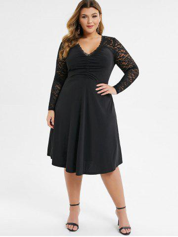 Plus Size Dresses | Women\'s Trendy, Lace, White & Black Plus ...