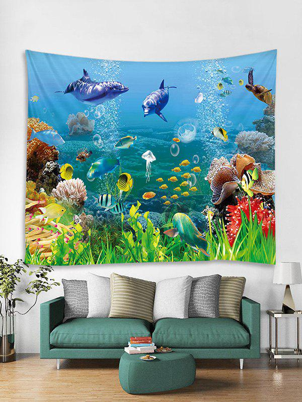Outfits Sea World Print Art Decoration Wall Tapestry