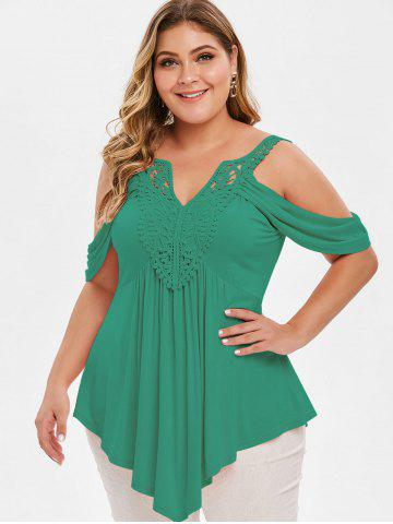 4fa82b245166a3 Plus Size Tops | Crop Tops, Off The Shoulder Tops, Cold Shoulder ...