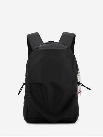 Student Nylon Solid Water-proof Backpack