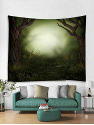 Forest Fantasy 3D Print Wall Tapestry -