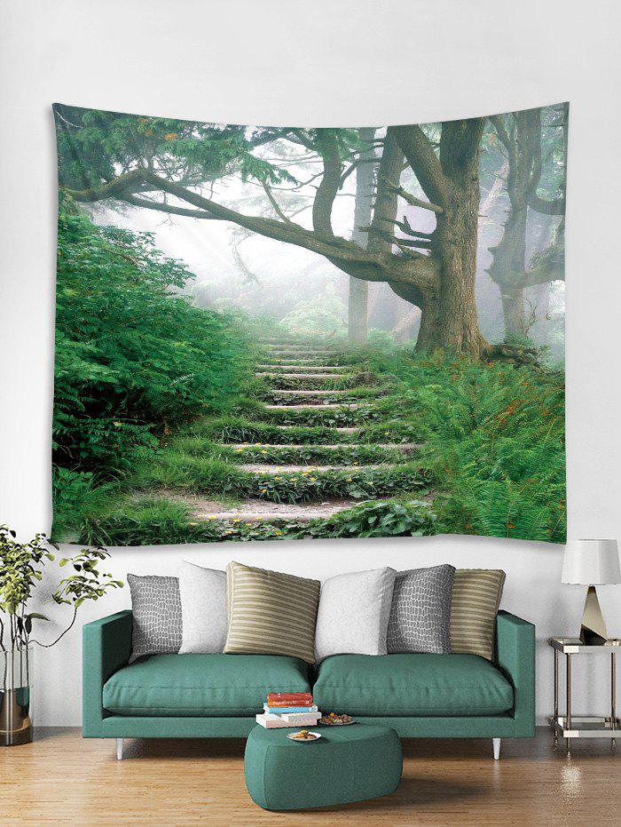 Latest Step Forest 3D Print Home Wall Tapestry
