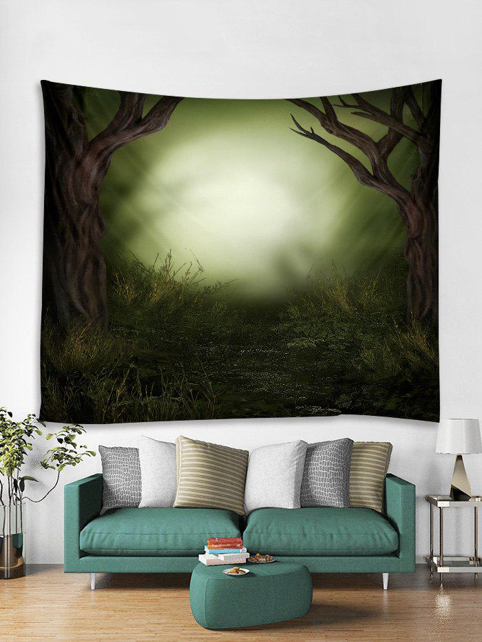 Unique Forest Fantasy 3D Print Wall Tapestry