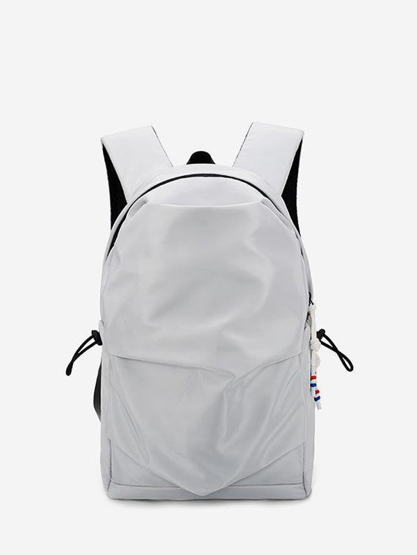 Discount Student Nylon Solid Water-proof Backpack