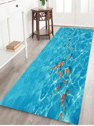 Fish In Water 3D Print Floor Rug -
