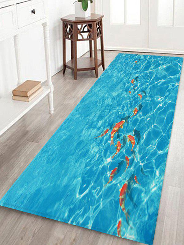 Store Fish In Water 3D Print Floor Rug