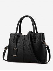 Simple Solid Daily Crossbody Handbag -