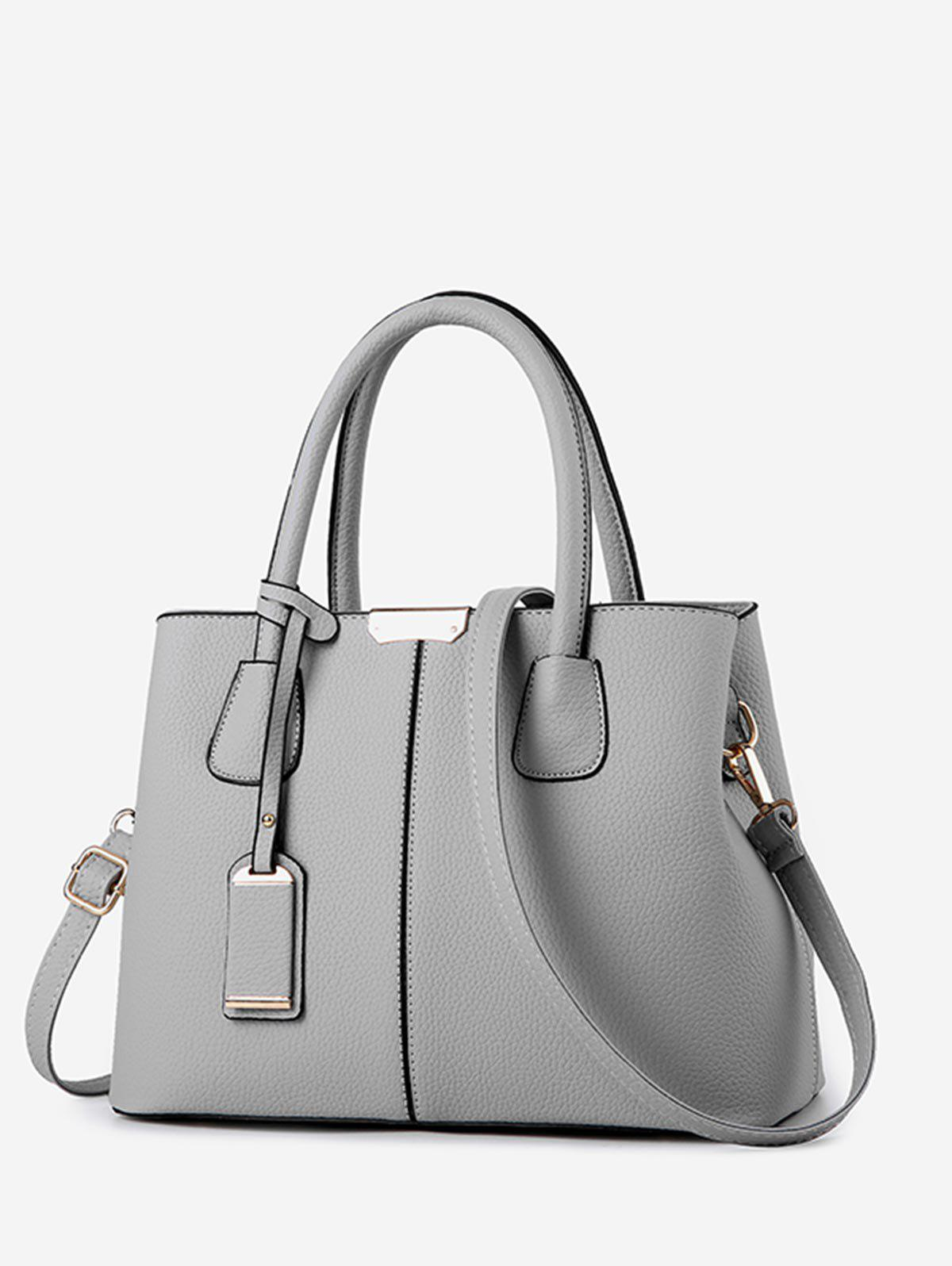 Outfits Simple Solid Daily Crossbody Handbag
