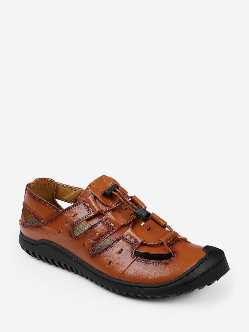 Fancy PU Leather Fisherman Outdoor Casual Shoes