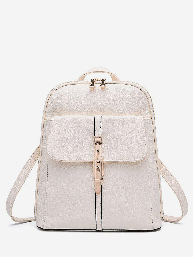 Outfits Brief College Student Buckle Backpack