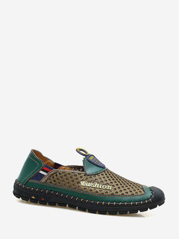 Fancy Mesh Breathable Comfortable Loafer Shoes