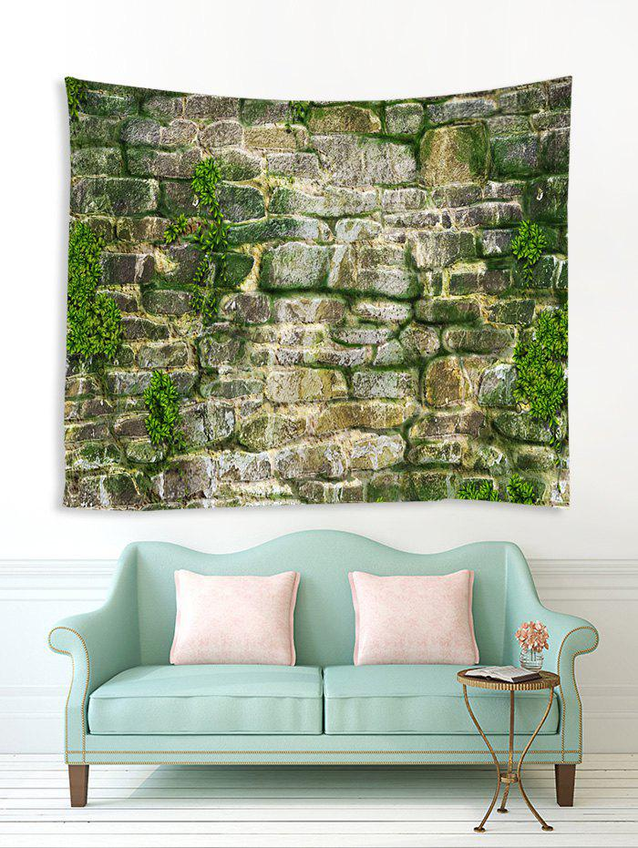 Chic Stone Wall Print Tapestry Wall Hanging Art Decoration