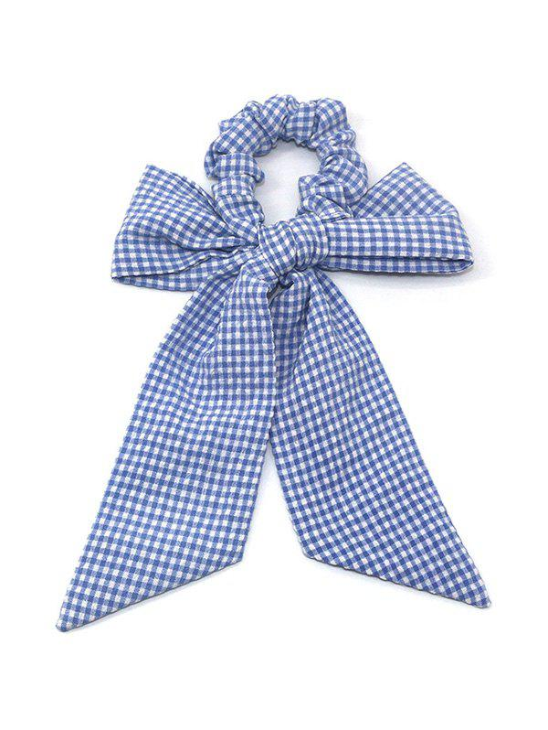 Fancy Plaid Pattern Bowknot Design Hairband