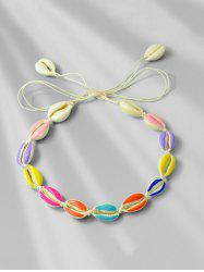 Shell Rope Beach Necklace -