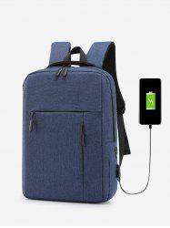 Simple USB Charging Business Backpack -