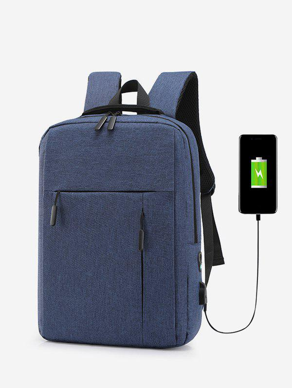 Fancy Simple USB Charging Business Backpack