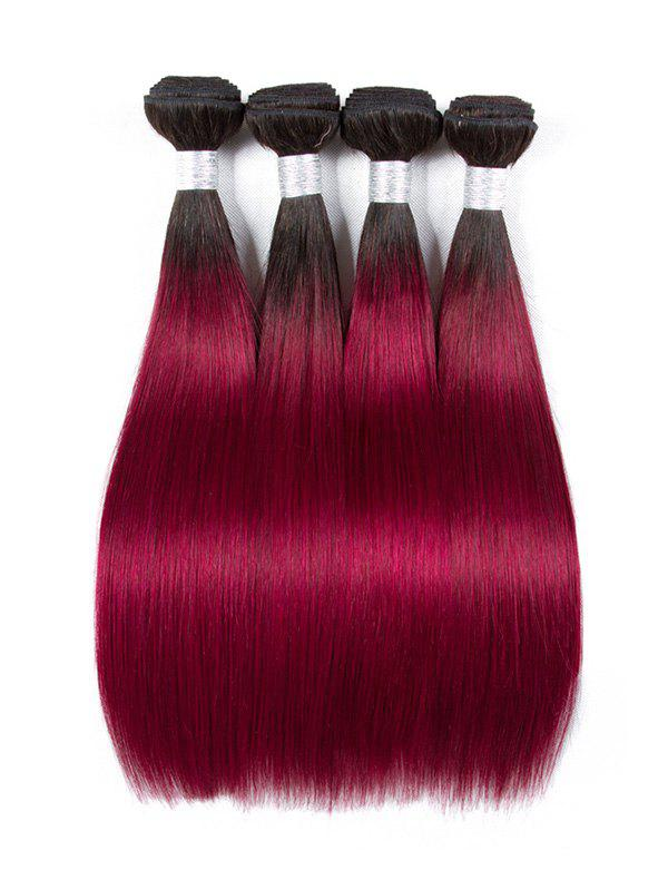 Shop Ombre Long Straight Human Hair Weft