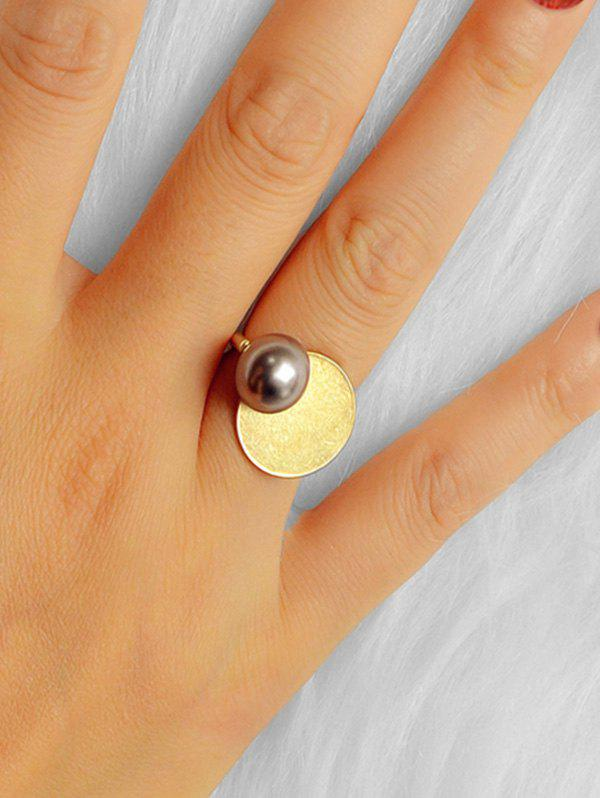 Best Round Faux Pearl Geometric Ring