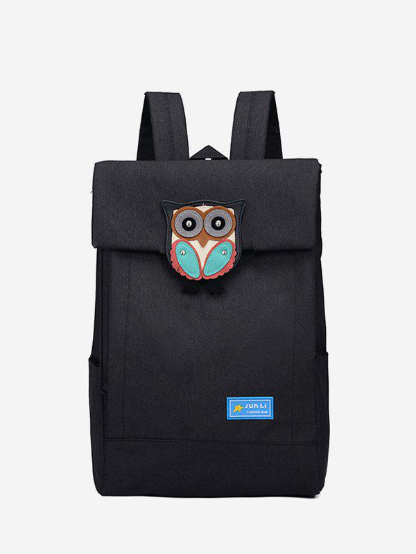 Discount Owl Design Solid Casual Backpack
