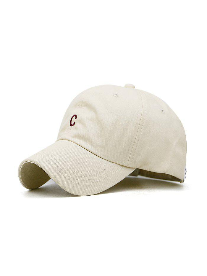 New Letter Embroidered Cotton Baseball Hat