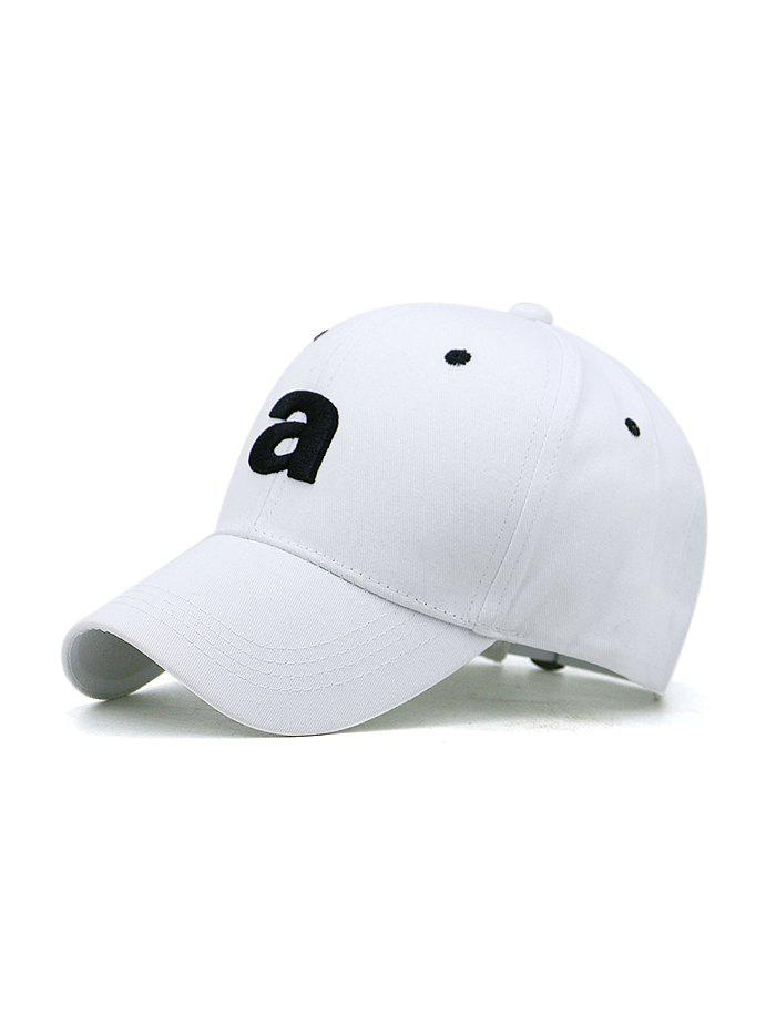 Store Embroidery A Letter Sport Baseball Cap