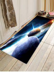 Universe Planet Anti-slip 3D Print Floor Rug -