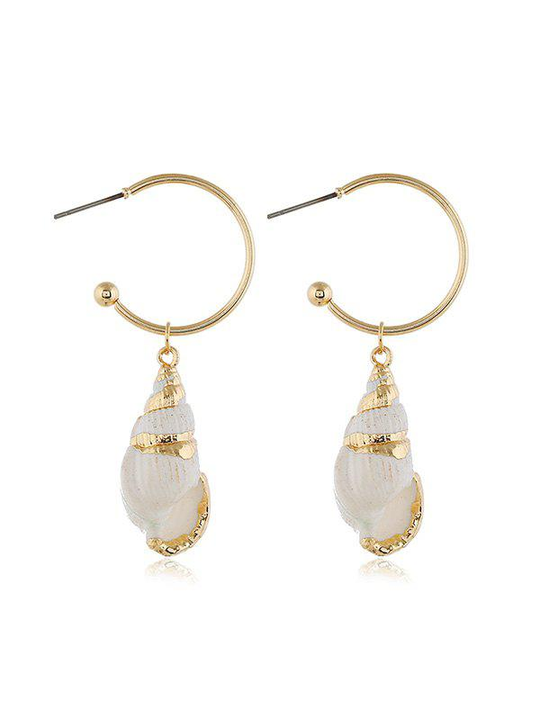 Outfit Pair of Conch Drop Earrings