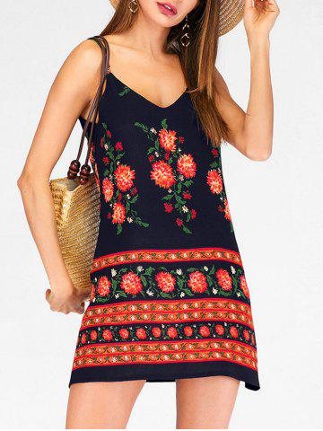 Flower Cami Beach Dress