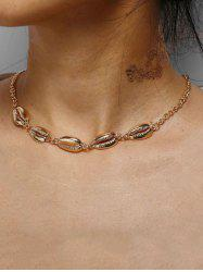 Shell Collarbone Chain Necklace -